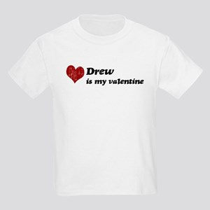 Drew is my valentine Kids Light T-Shirt