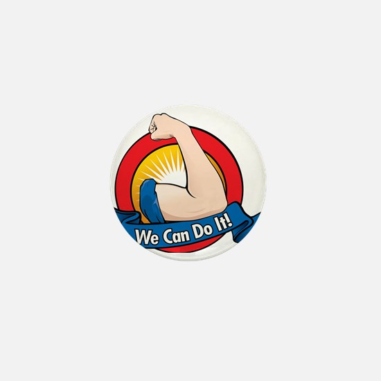We can do it Mini Button