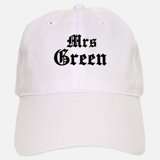 Mrs Green Baseball Baseball Cap
