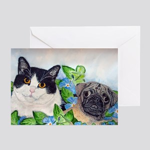Emmet & Oreo Greeting Cards (Pk of 10)