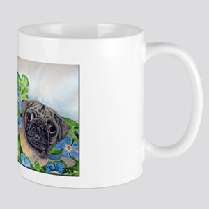 Emmet the Pug and Oreo the Cat Mug