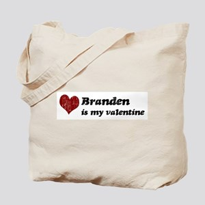 Branden is my valentine Tote Bag