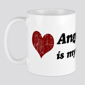 Angeles is my valentine Mug