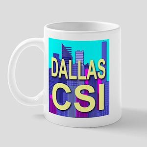 Dallas CSI Mug