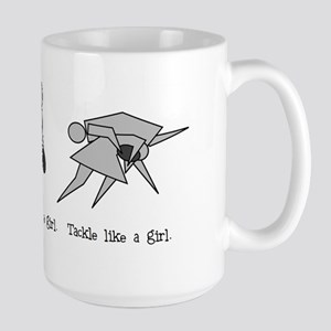 Run Like a Girl... Large Mug