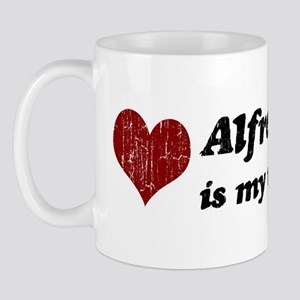 Alfred is my valentine Mug