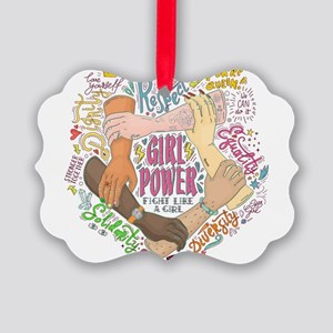 Girl Power Picture Ornament