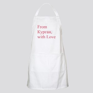 From Kurgan with Love BBQ Apron