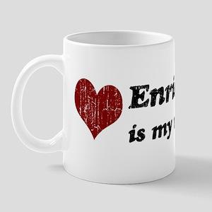 Enrique is my valentine Mug