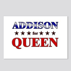 ADDISON for queen Postcards (Package of 8)