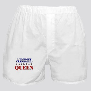 ABRIL for queen Boxer Shorts