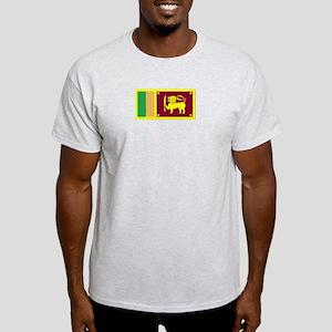 Sri Lanka Ash Grey T-Shirt