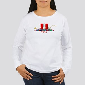 PERU Women's Long Sleeve T-Shirt