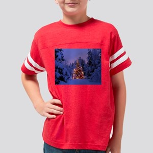 Christmas Tree With Lights T-Shirt