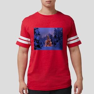 Christmas Tree With Lights T-Shirt