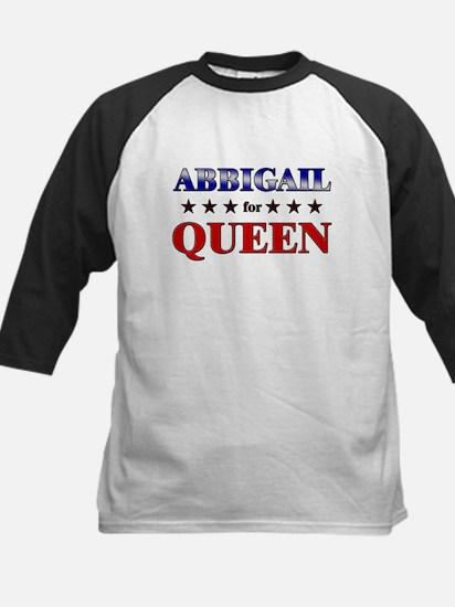 ABBIGAIL for queen Kids Baseball Jersey