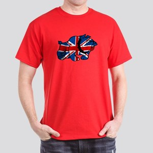 Union Jack Brit Bulldog Dark T-Shirt