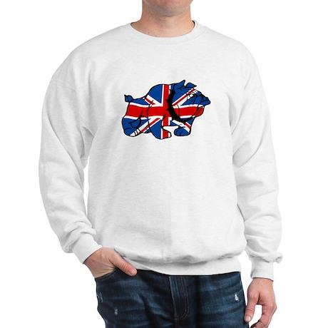 Union Jack Brit Bulldog Sweatshirt