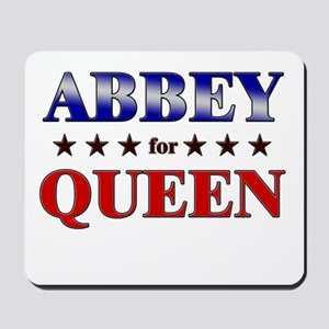 ABBEY for queen Mousepad