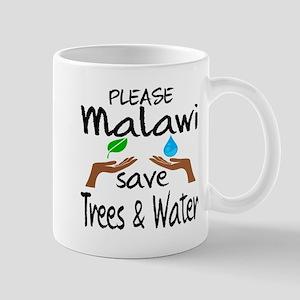 Please Malawi Save Trees & Water 11 oz Ceramic Mug