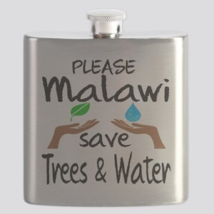 Please Malawi Save Trees & Water Flask