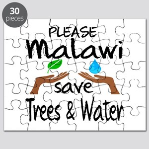 Please Malawi Save Trees & Water Puzzle