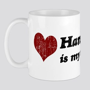 Hans is my valentine Mug