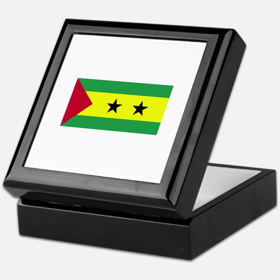 Sao Tome and Principe Keepsake Box