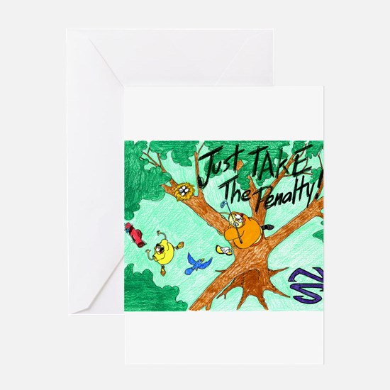 In The Trees Greeting Card