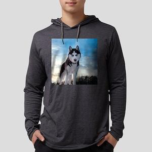 Husky Dog Outdoors Long Sleeve T-Shirt