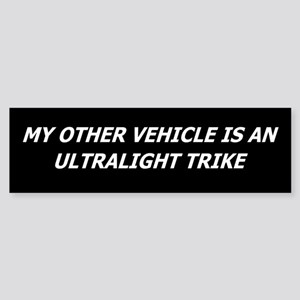 Ultralight Trike Bumper Sticker