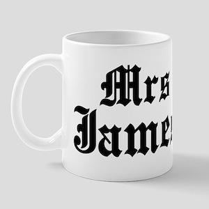 Mrs James Mug