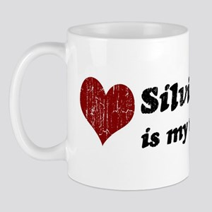 Silvio is my valentine Mug