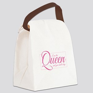 I am the Queen - Obey Canvas Lunch Bag