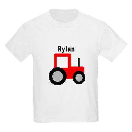 Rylan - Red Tractor Kids Light T-Shirt