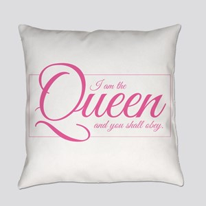 I am the Queen - Obey Everyday Pillow