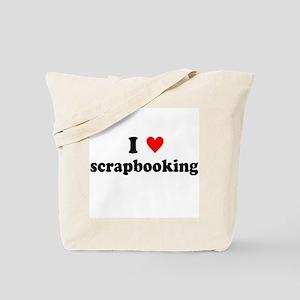 I {heart} Scrapbooking Tote Bag