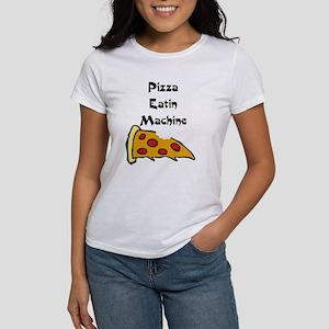 PIZZA EATING MACHINE Women's T-Shirt