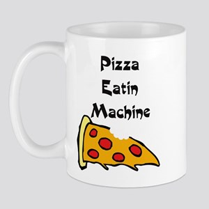 PIZZA EATING MACHINE Mug