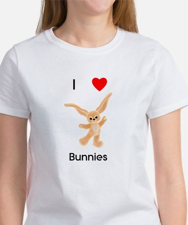 I love bunnies Women's T-Shirt