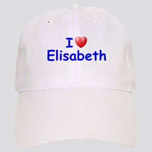 I Love Elisabeth (Blue) Cap