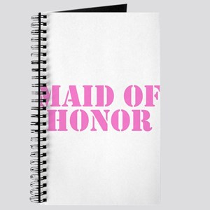 Maid of Honor Army Journal