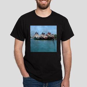 3 Ships Dark T-Shirt
