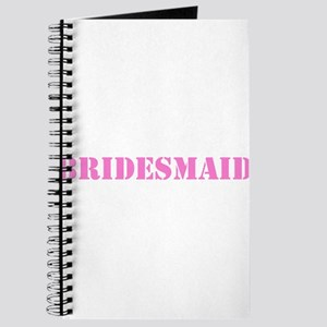 Bridesmaid Army Journal