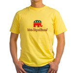 Vote Republican Yellow T-Shirt