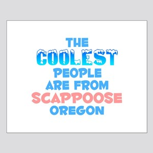 Coolest: Scappoose, OR Small Poster