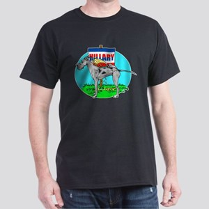 Merle Dane Pi$$ on Hillary Dark T-Shirt