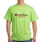 Republican and Proud Of It Green T-Shirt