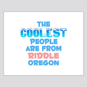 Coolest: Riddle, OR Small Poster