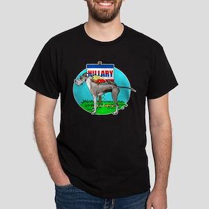 Mantle Dane Pi$$ on Hillary Dark T-Shirt